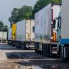 На российско-литовской границе в Калининградской области скопилось более 250 фур